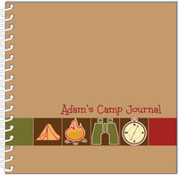 Camp Retro Icons Journal | Notebook