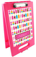 Bright Popsicles Clipboard Storage Case