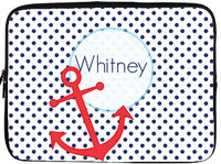Anchors Away Laptop/Tablet Sleeve
