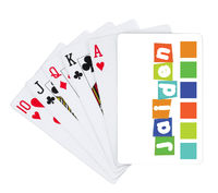 Banner Boy Playing Cards