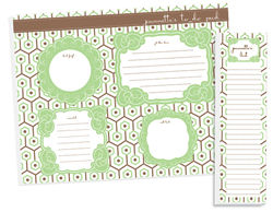 Sage Geometric To Do Pad Set