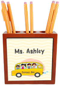 School Days Pencil and Pen Holder