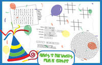 Birthday Fun Paper Placemats