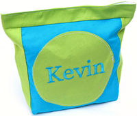 Lime & Aqua Snack Bag