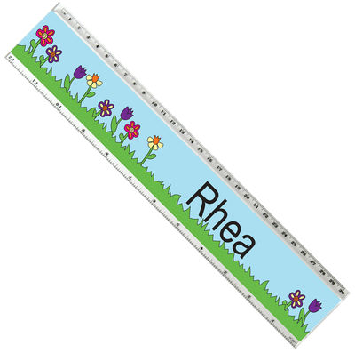 May Flowers Acrylic Ruler