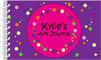 Bubbles Girl Art Journal