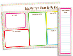 Fun Teacher To Do Pad Set