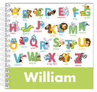 Animal Letters Boy Journal | Notebook