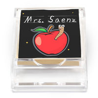 Apple For Teacher Sticky Note Holder