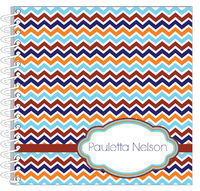 Fall Chevron Journal | Notebook