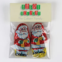 Holiday Tiles Candy Bag Toppers