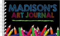 Bold Crayons Art Journal