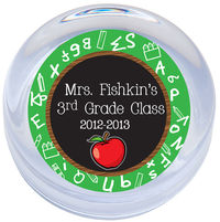Apple Chalkboard Paperweight