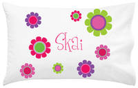 Bright Daisies Pillowcase