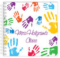 Colorful Hands Too Journal | Notebook