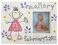 Baby Picture Frame - Girl SL1G