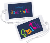 Colorful Fun Luggage Tag