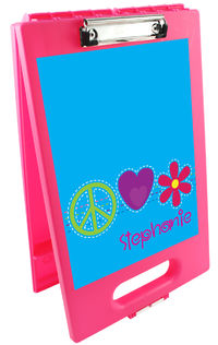 Bright Stitches Clipboard Storage Case