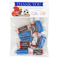 Love for Sports Birthday Party Candy Bag Favors