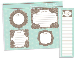 Retro Flowers To Do Pad Set