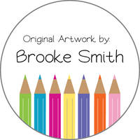Color Pencils Art Stickers