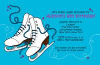 Ice Skate Invitation