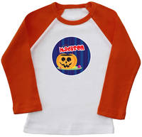 Pumpkin Treats Ringer Printed Tee