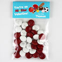 Just Sporty Valentines Candy Bag Toppers