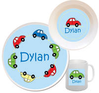 Traffic Melamine Set