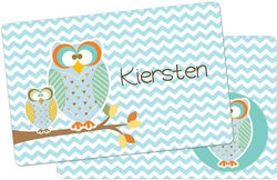 Autumn Owls Placemat