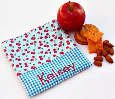 Dainty Cherries Sandwich Bag SB04
