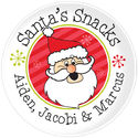 Snacks for Santa Plate