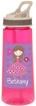 Flower Princess Water Bottle