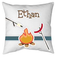 Camp Fire Autograph Pillow