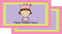 Birthday Girl Pink Placemat
