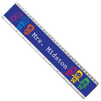 Colorful Kids Acrylic Ruler