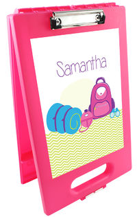 Camp Supplies Girl Clipboard Storage Case