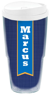 Banner Blue Acrylic Travel Cup