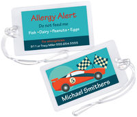 Finish Line Allergy Alert Tag