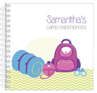 Camp Supplies Girl Journal | Notebook