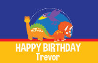 Dinosaur Fun Birthday Paper Placemats