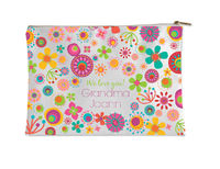Mod Flower Frame Small Accessory Flat Pouch