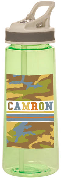 Camo Boy Water Bottle