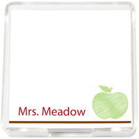 Green Apple Mini Memo Sheets