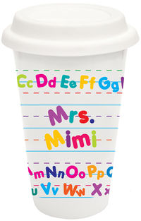 Alphabet Covered Tumbler