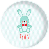 Blue Bunny Plate