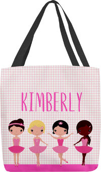 Ballet Girls Tote Bag
