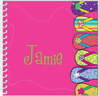 Funky Flip Flops Journal | Notebook