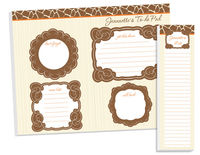 Giraffe Print To Do Pad Set