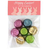 Bunny Line Easter Candy Bag Toppers